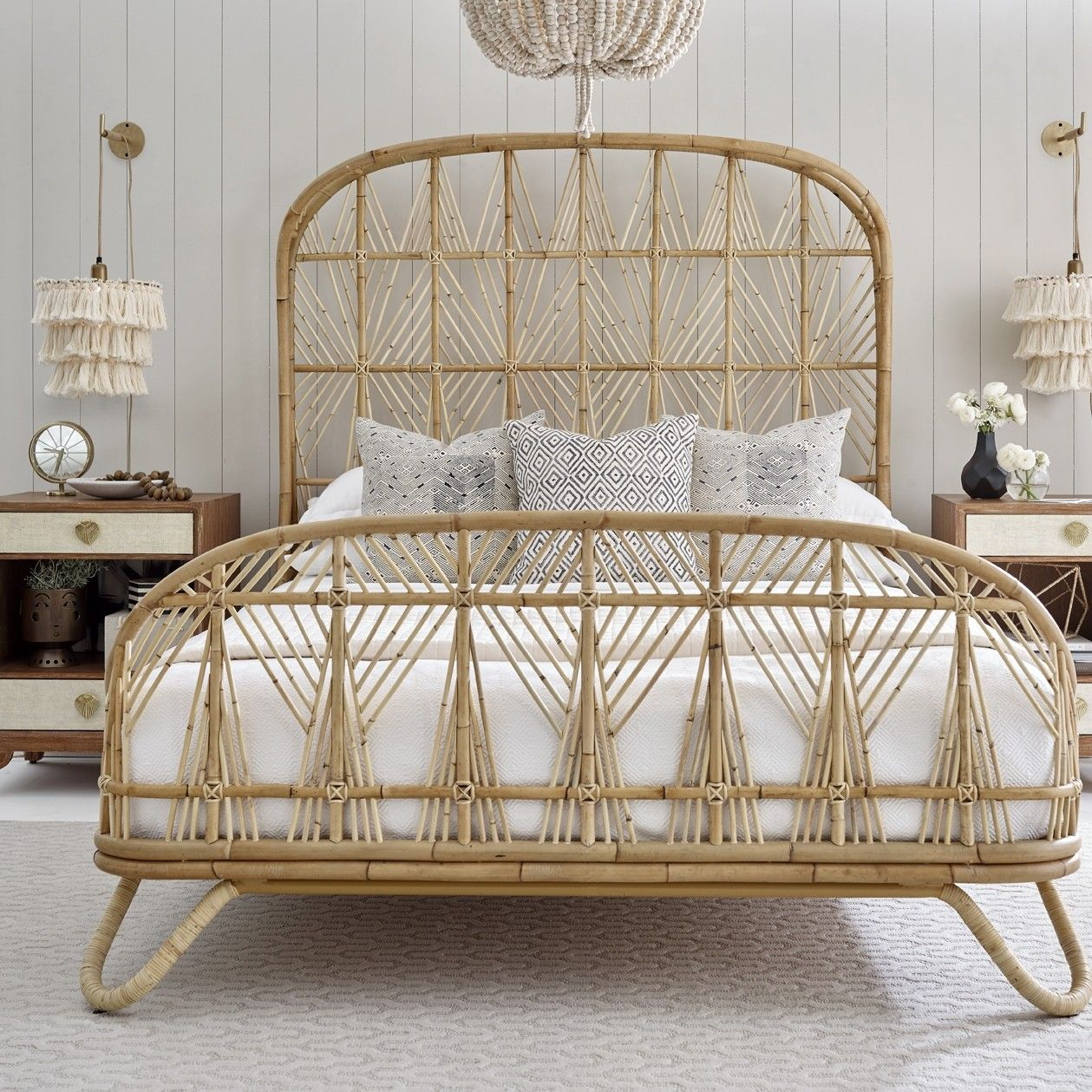 Your Bohemian Dream Justina Blakeney S Ara Bed Rattan Platform
