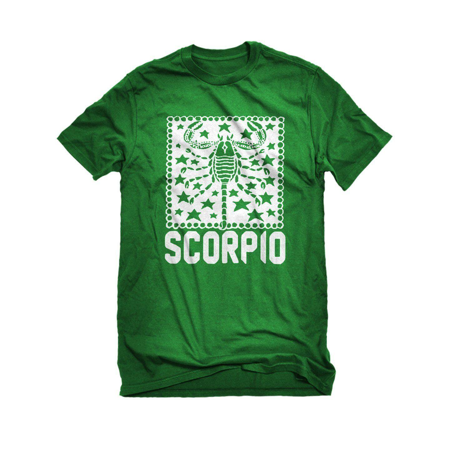 Mens Scorpio Zodiac Astrology Unisex T-shirt