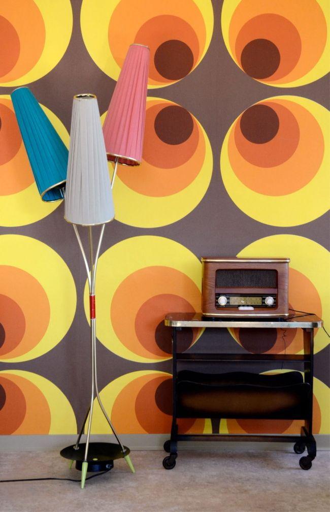 Einrichtung Im Retro Stil U2013 Die Möbel Und Farben Aus Den 60er Jahren # Einrichtung