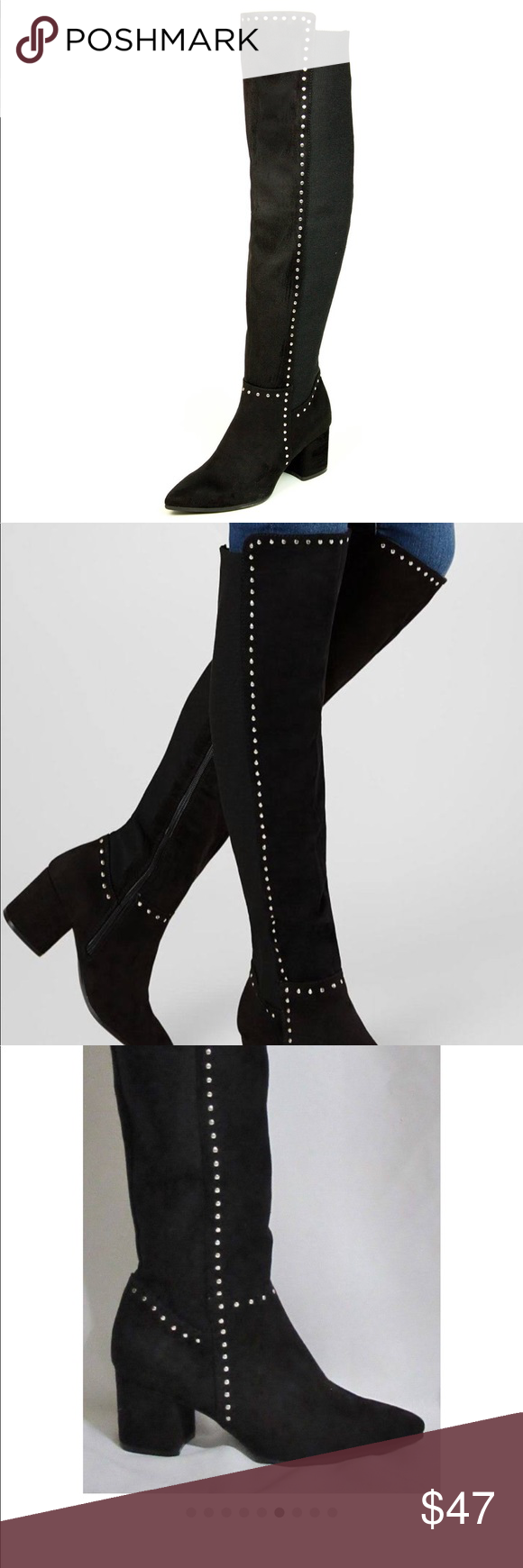 1ec5d387878 Seven Dials Nicki Tall Boots Good condition winter  spring boots. Elastic on  the back