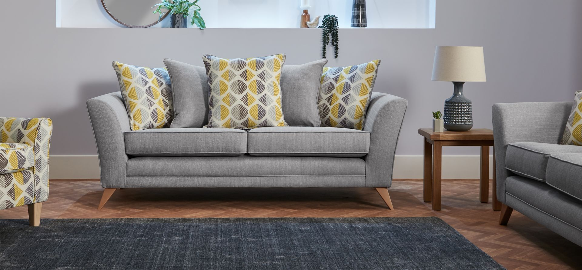 Helios 3 Seater Sofa Scatter Back | Our House in 2019 | 3