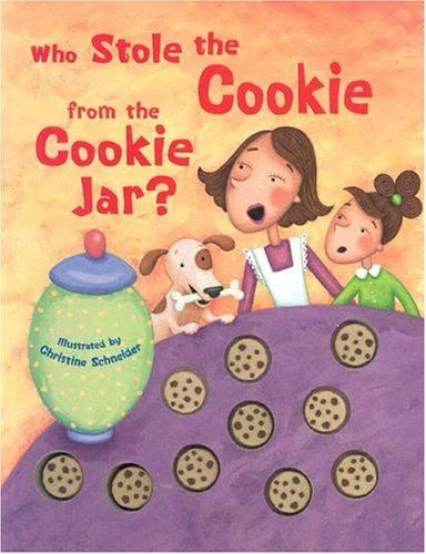 Who Stole The Cookie From The Cookie Jar Book Unique Who Stole The Cookies From The Cookie Jarmargaret Wang Http Design Ideas
