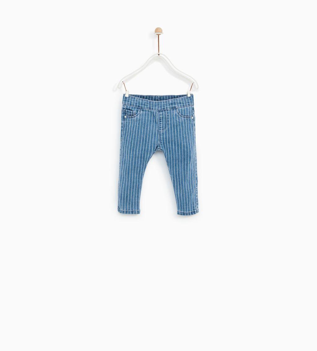 0ec5d256da910 BASIC SLIM FIT JEANS-JEANS-BABY GIRL | 3 months - 4 years-KIDS | ZARA  United States