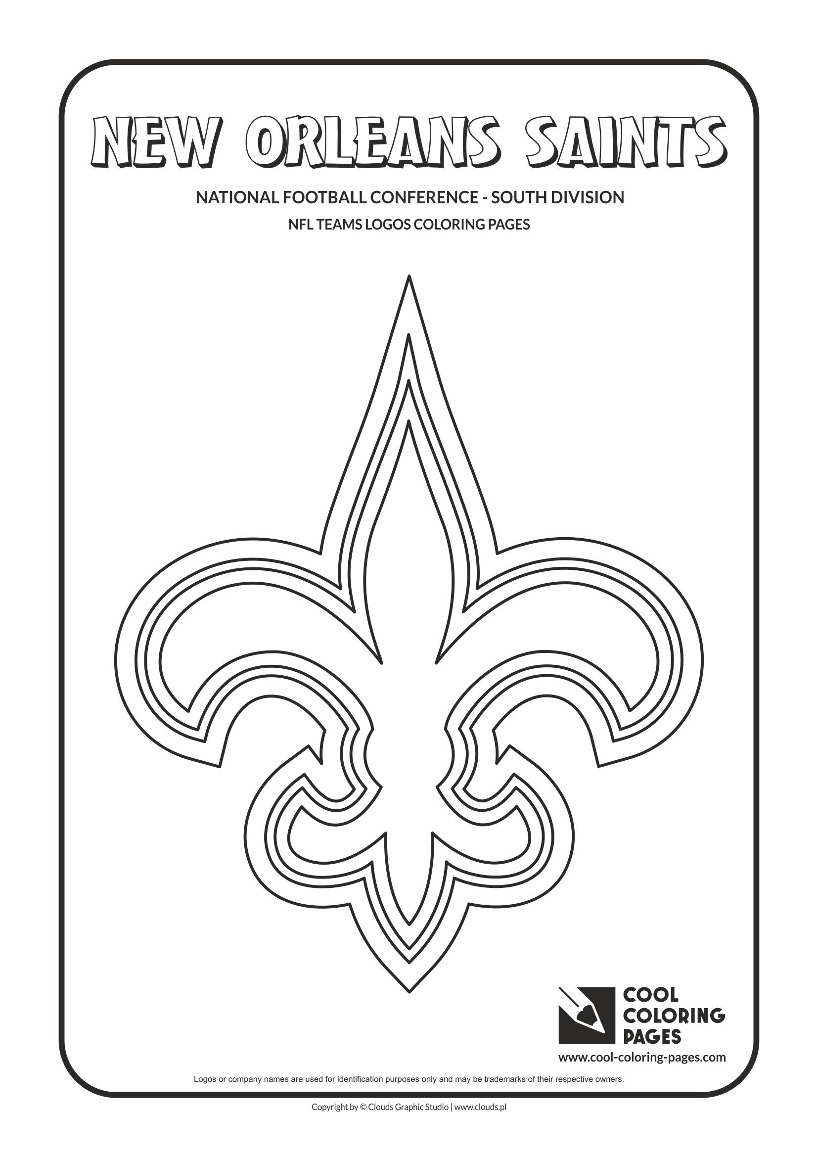 cool coloring pages nfl american football clubs logos national football - Nfl Football Logos Coloring Pages