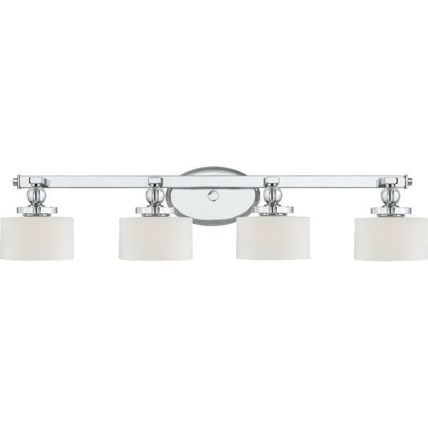 Features Four Light Bath Vanity Number Of Lights 4 White