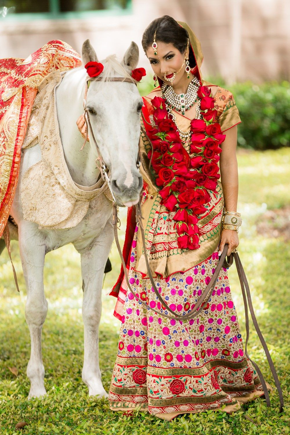 A PINK & RED INDIAN STYLED WEDDING SHOOT