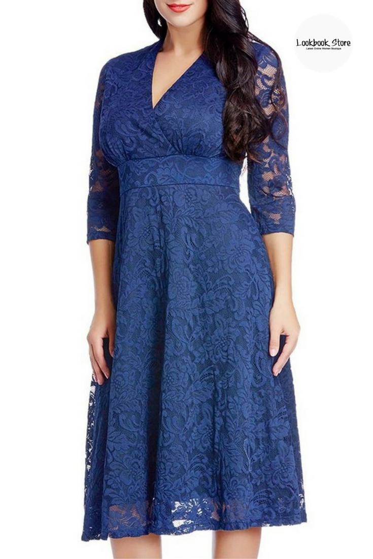 Lace dress for big size  LBS Amazon  Make way for another addition to your wardrobe with