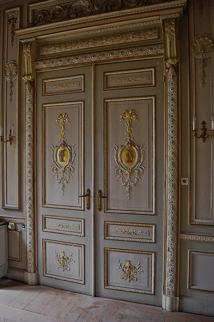 Love these doors for a master suite