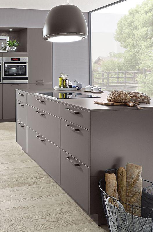 Stilsicher in grau deine neue Traumküche! küchenideen