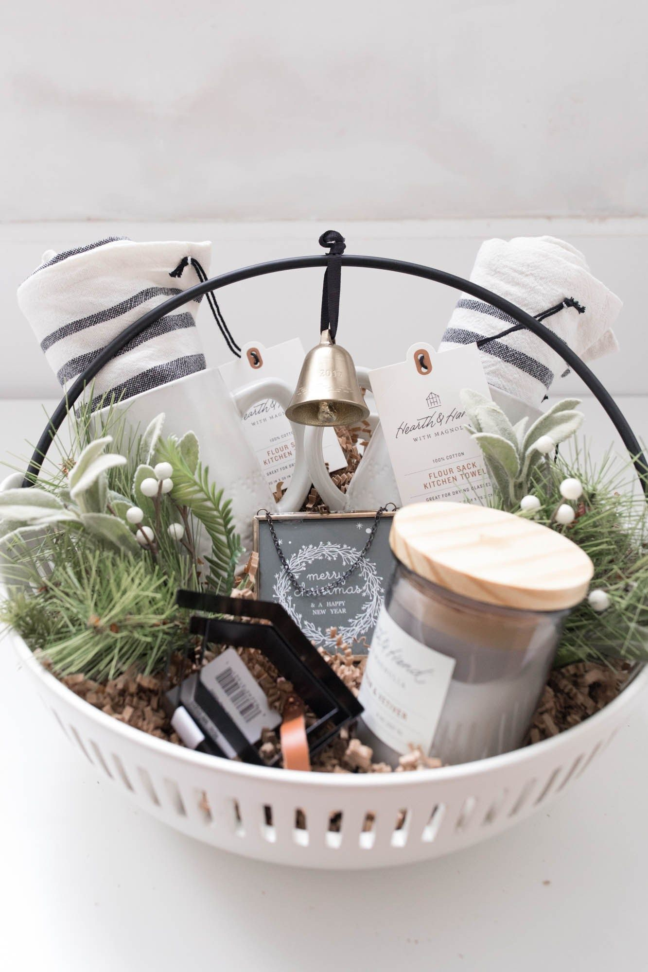 Hearth and Hand Gift Basket- Gift Guide for the Farmhouse Decor Fan - Farmhouse on Boone