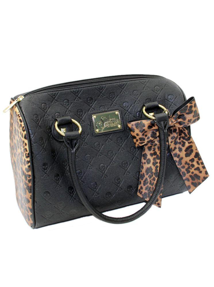 Sullen Leopard Logo Handbag