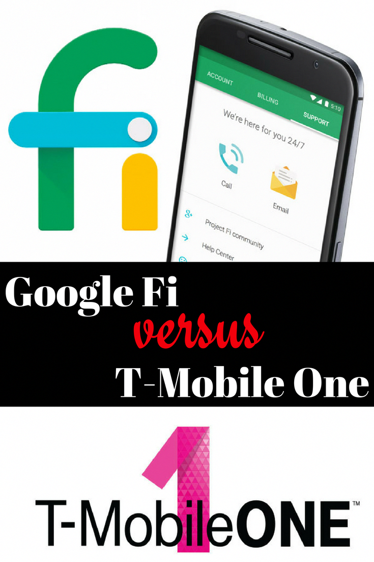 We match up Google's Project Fi cell phone plan against T-mobile's