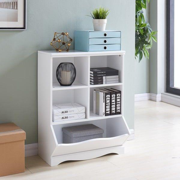 Danya B Multi Cubby Storage Cabinet White
