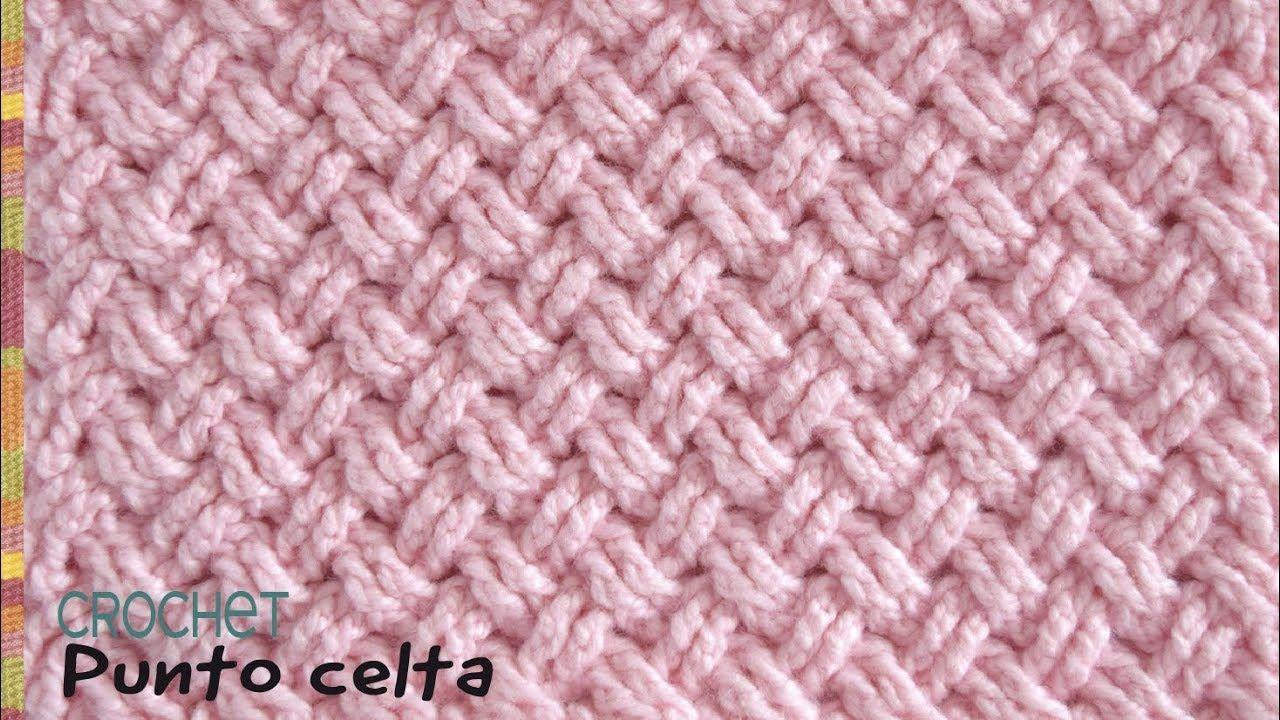 Punto diseño CELTA tejido a crochet / Tejiendo Perú | Tejido ...