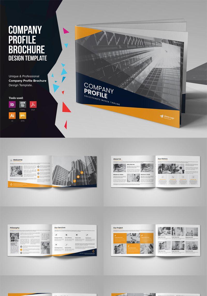 Corpl 16 Page Company Profile Brochure Designready To Use For A œcompany Profile C In 2020 Company Profile Template Company Brochure Design Company Profile Design
