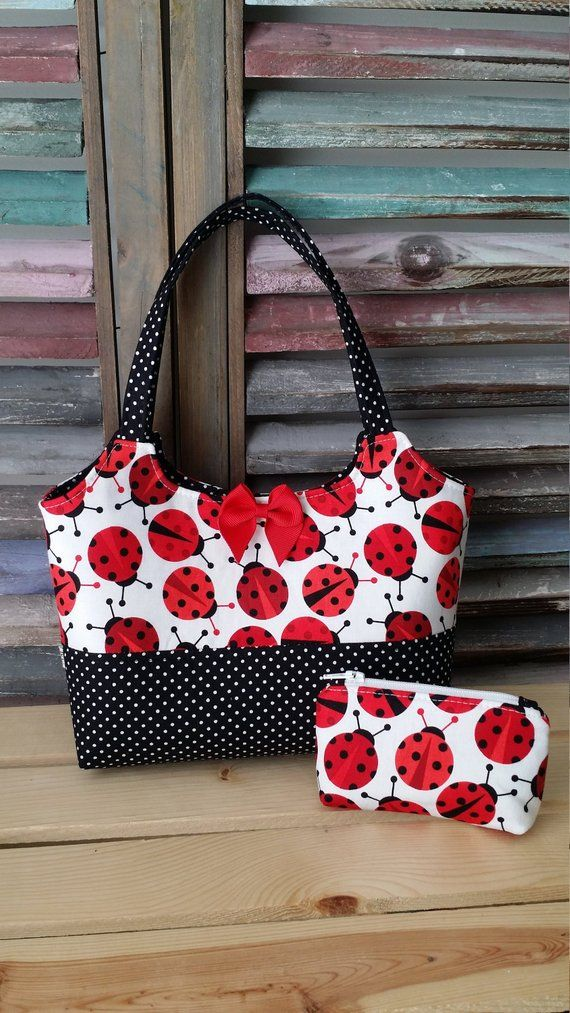 Photo of Lady Bug Little Girls Purse  Toddler Purse