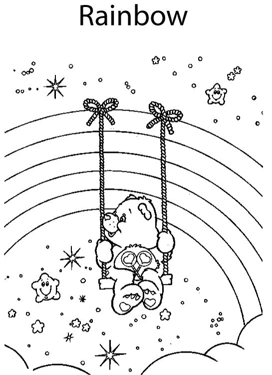 CARE BEAR VALENTINE COLORING PAGES « Free Coloring Pages | 2nd ...
