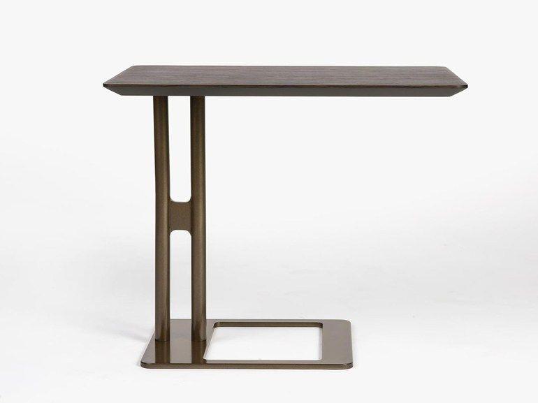 Mesa auxiliar rectangular de madera VICTOR Mesita - Esedra by