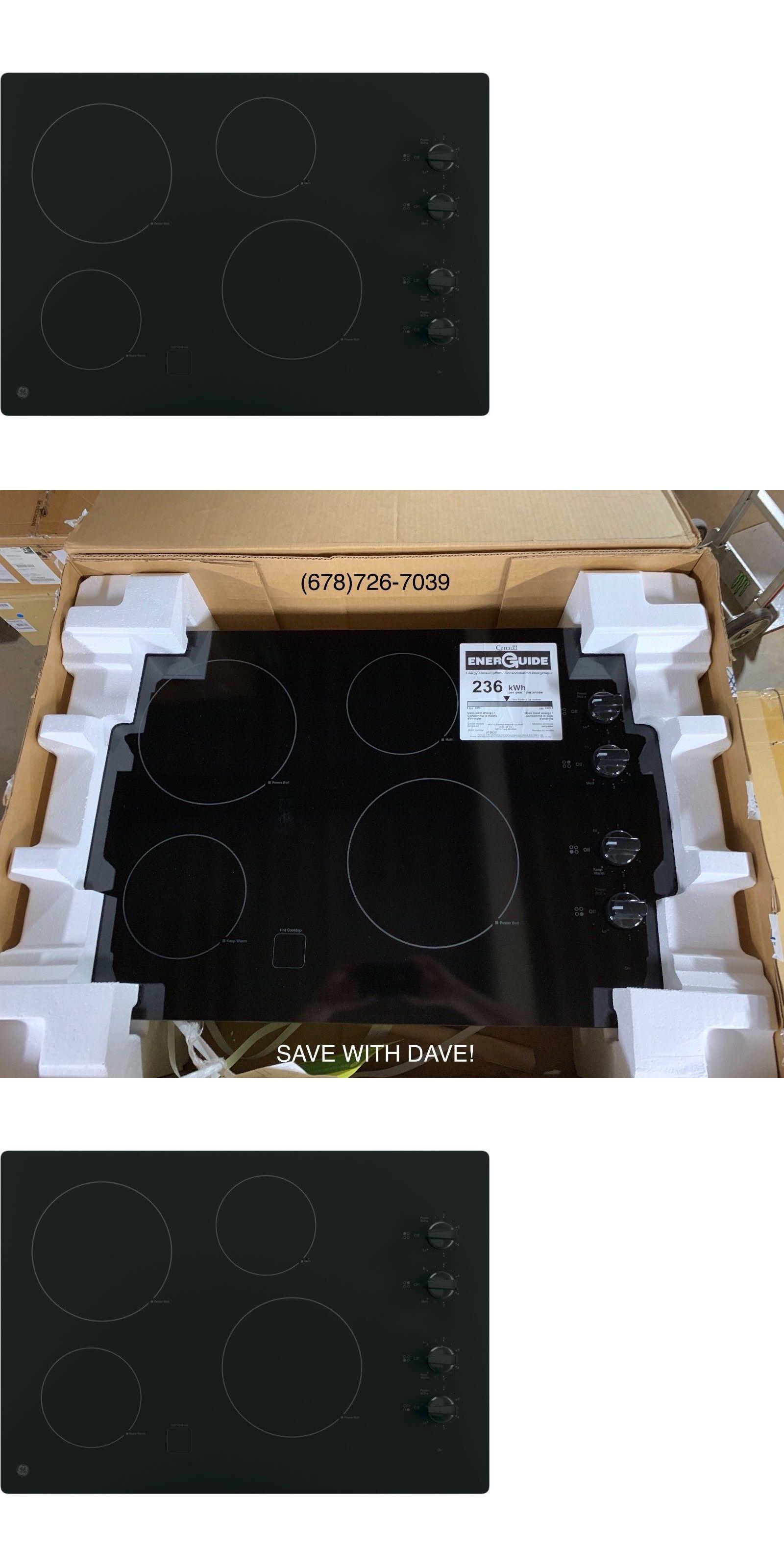 Cooktops ge jpdjbb electric cooktop black ue buy it