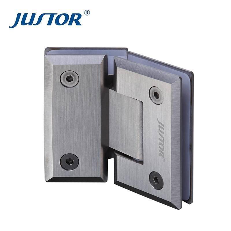 Ju W203 304 Stainless Steel 135 Degree Glass Clamp Shower Door Hinge In 2020 Glass Door Hinges Glass Bathroom Shower Doors