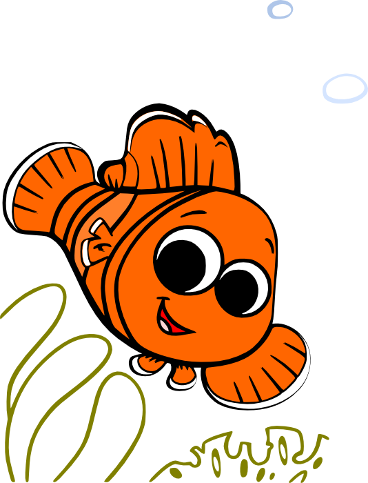 nemo clipart clipartfest finding nemo pinterest rh pinterest com finding nemo clipart black and white finding nemo clipart images
