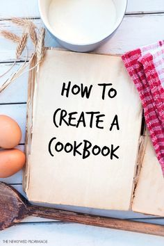 how to create a cookbook tutorial diy crafts that i love