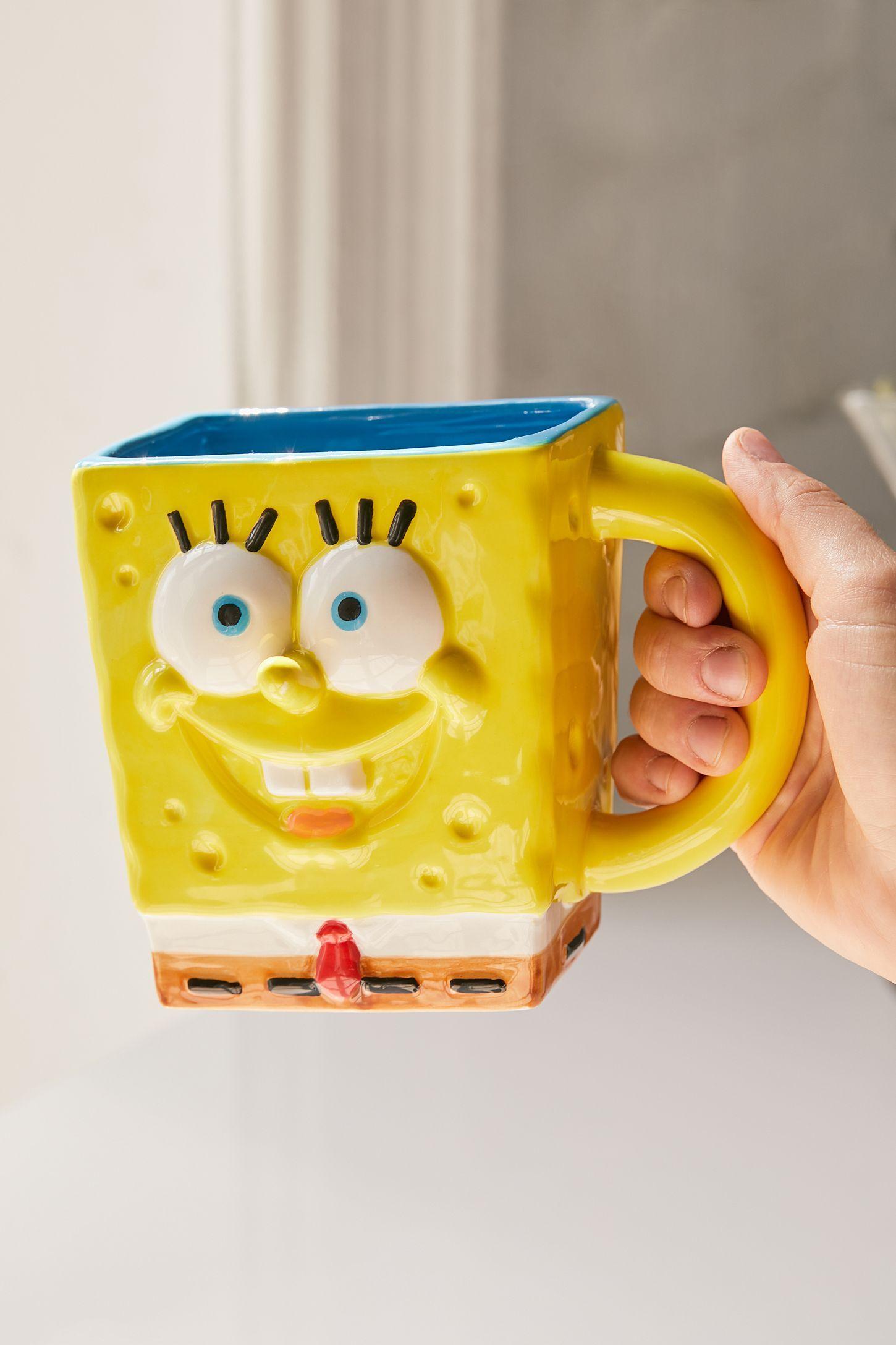 Spongebob Squarepants Shaped Mug To Build A Home Mugs Spongebob