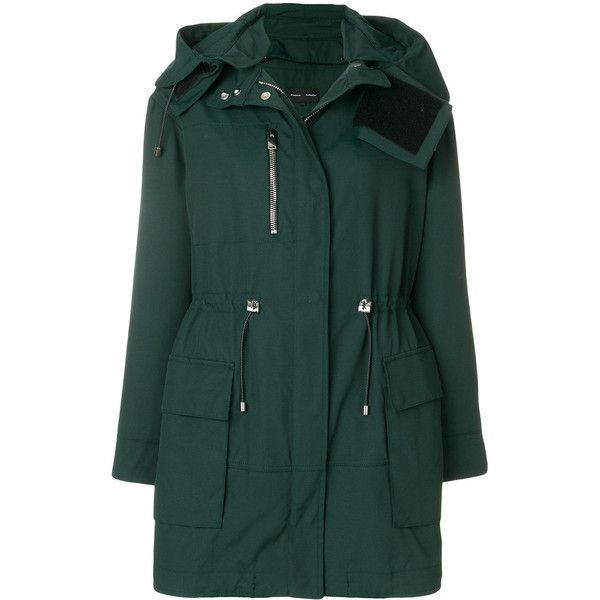 Proenza Schouler fitted parka coat (107.165 RUB) ❤ liked on ...