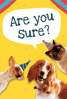 image relating to Dog Birthday Cards Printable Free referred to as Pet dog Circle - Free of charge Birthday Card Birthday Playing cards Humorous