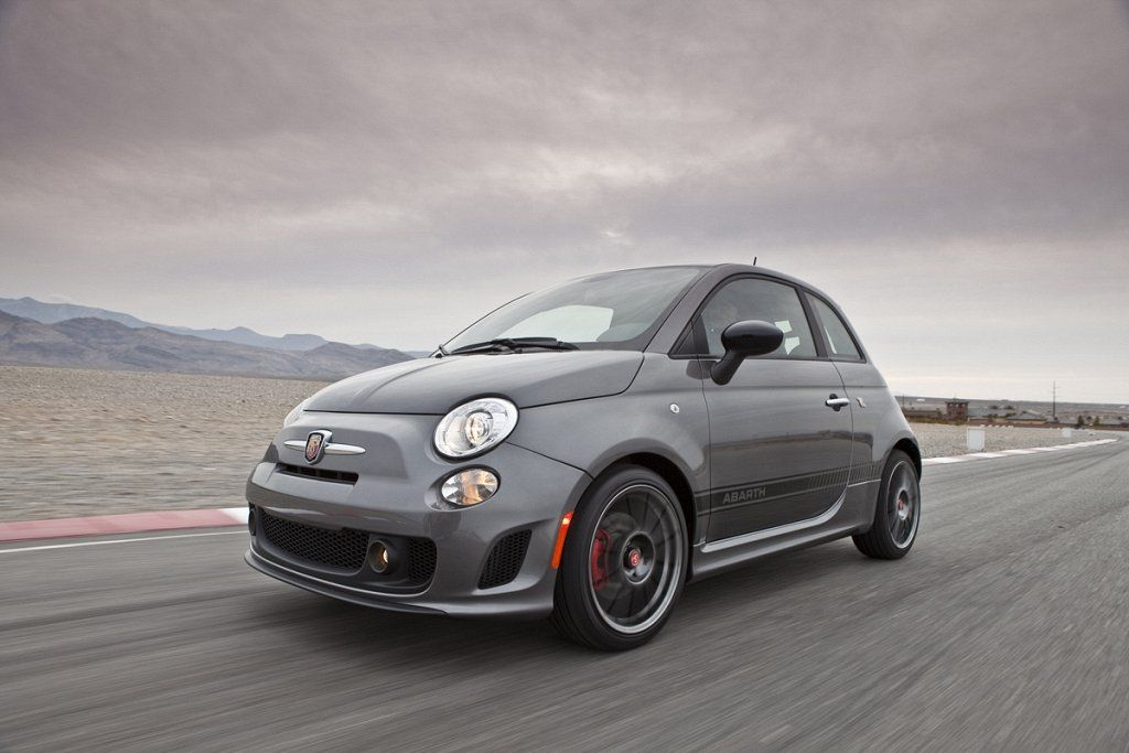 Ten Practical Performance Cars 7. Fiat 500 Abarth 2012