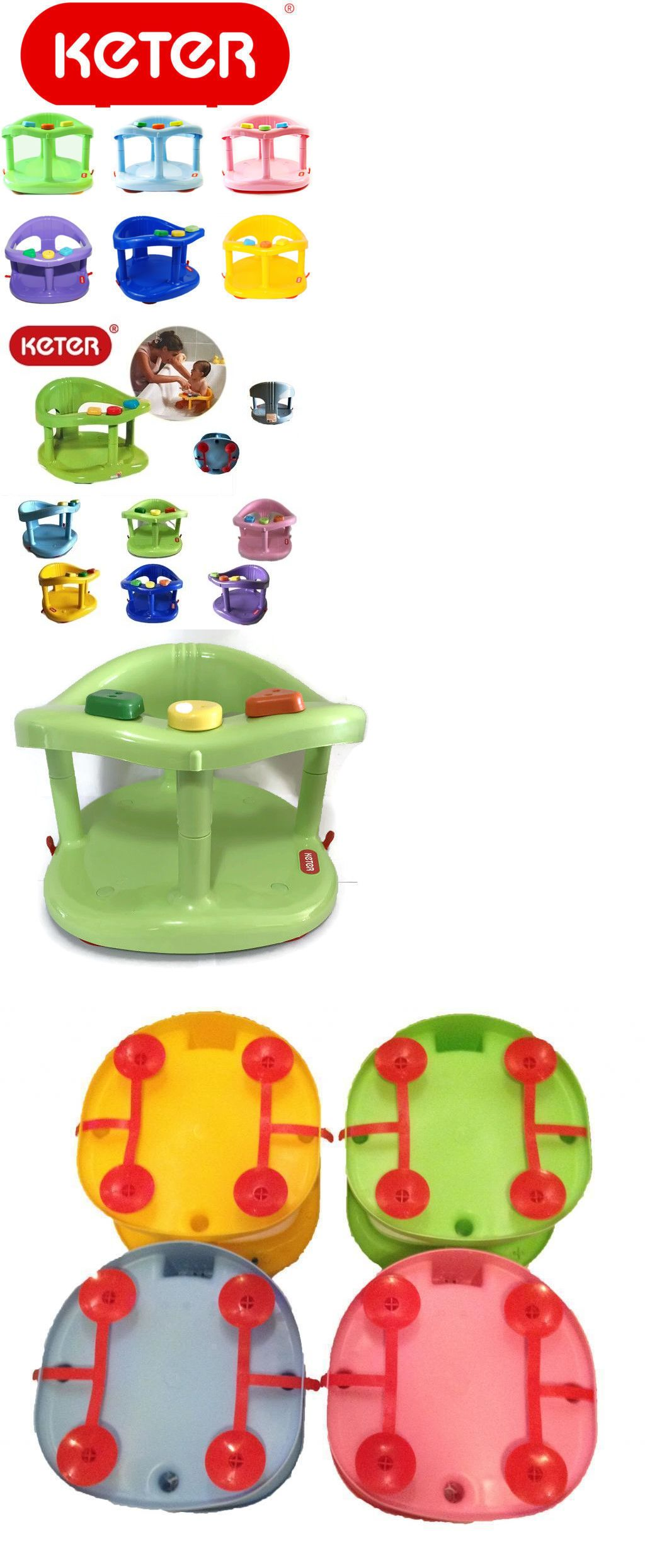 Bathing and Grooming 20394: Infant Baby Bath Tub Ring Safety Seat ...