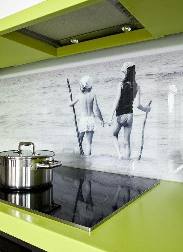 frische küchenrückwand ideen - digitales foto - hd qualität ... - Küchenspiegel Mit Fototapete