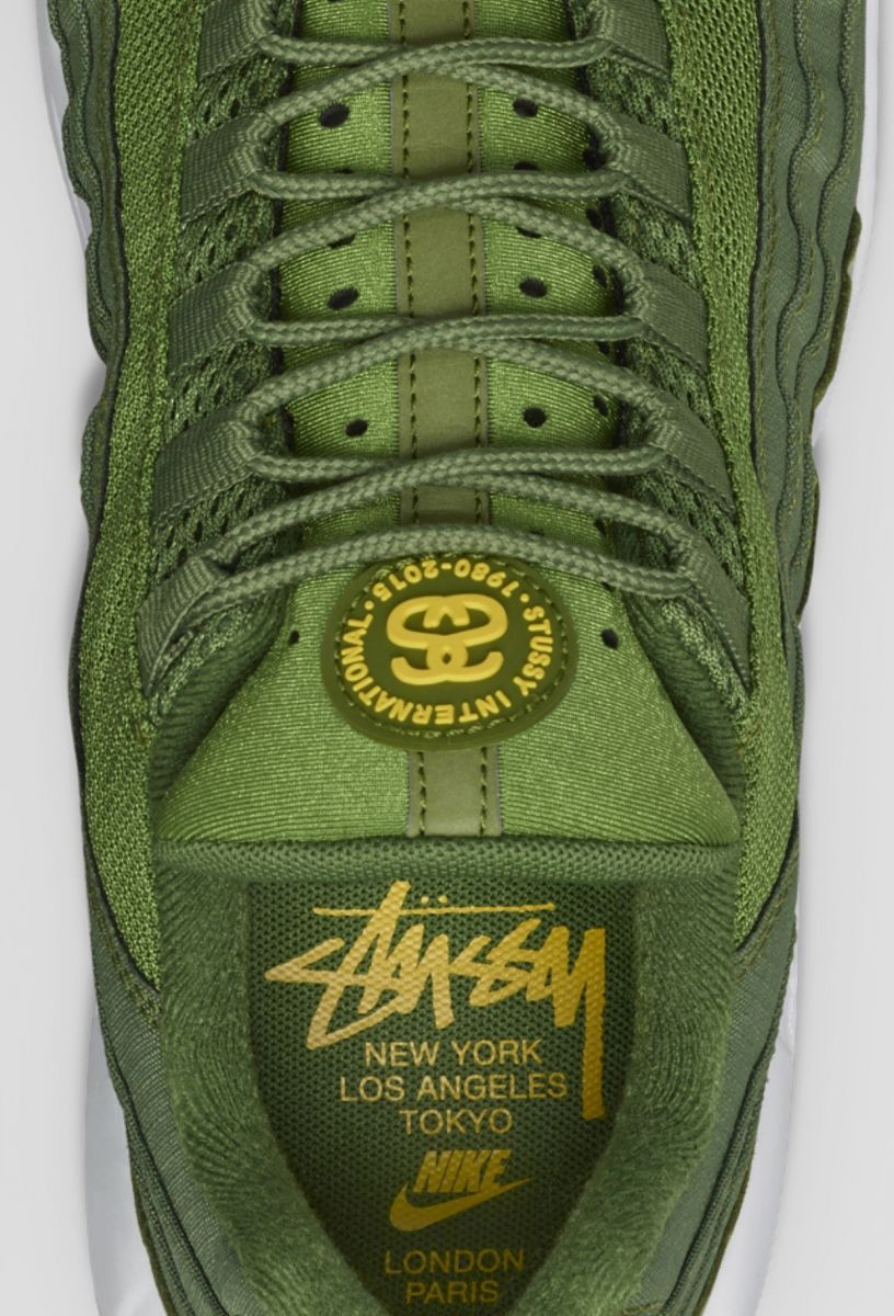 best website 22168 96011 Stussy Nike Air Max 95  Sole Collector