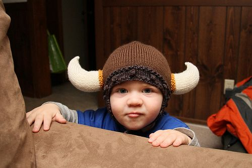 Ravelry Viking Hat Pattern By Becky Veverka Babys Viking Hat To