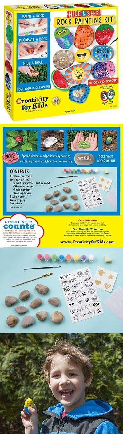 a17af989f Craft Kits 116655: Creativity For Kids Hide And Seek Rock Painting Kit ->  BUY IT NOW ONLY: $13.79 on eBay! | Craft Kits 116655 | Pinterest | Craft  kits, Kit ...