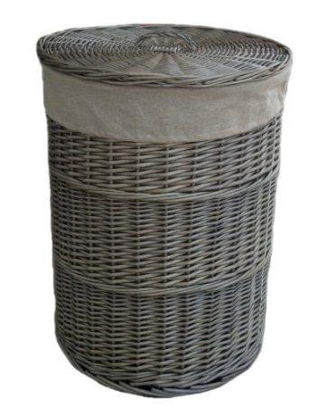 Large Wicker Washing Basket
