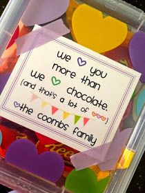 Marci Coombs: Quick and Easy Teacher Appreciation Gift.