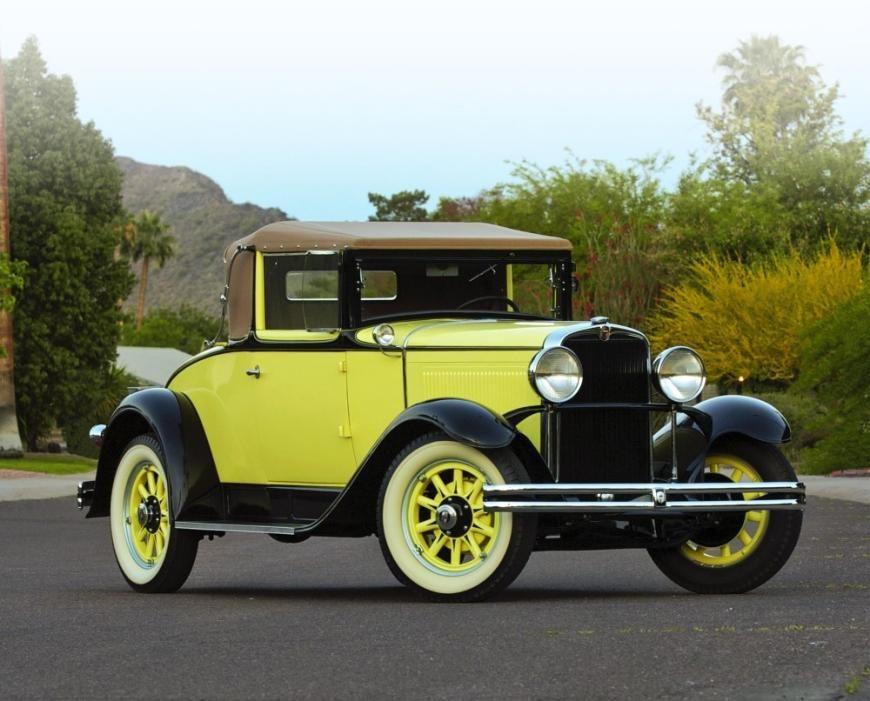 Nash Dash...Not So Much - 1930 Nash Single Six