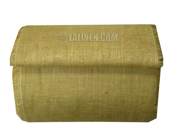 14 16 Inch Burlap Roll 50 Yards Roll With White By Lalinen 39 96 Burlap Rolls Burlap Fabric Decor