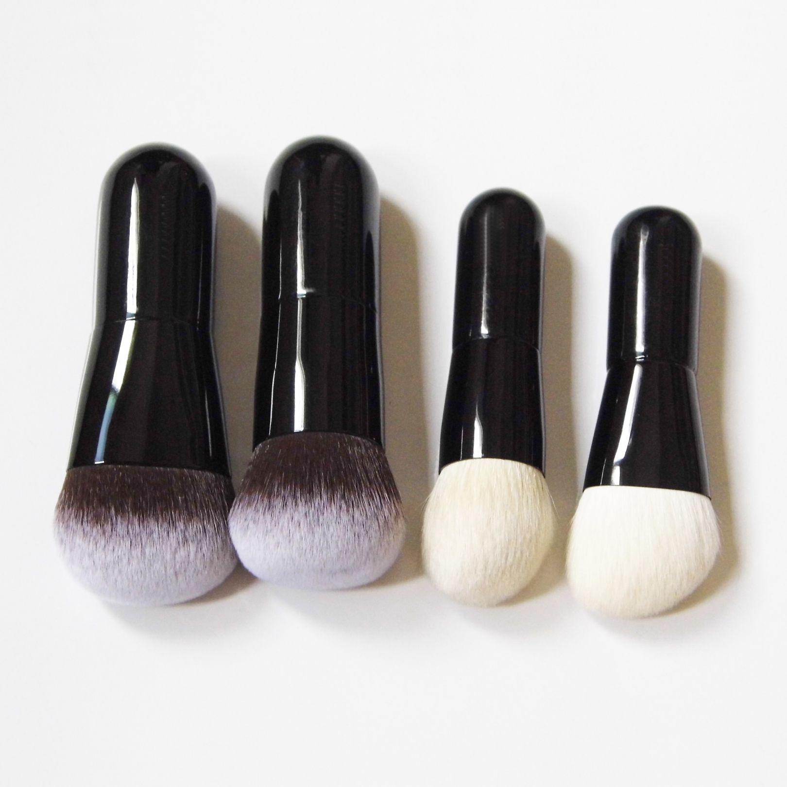 BEILI Pink 25 Pieces Makeup Brushes Set Natural goat hair