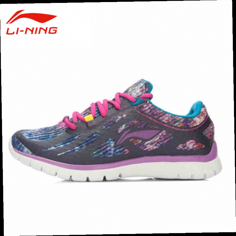 46.89$  Watch now - http://alie05.worldwells.pw/go.php?t=32744593045 - Li-Ning Women's Lace-Up Training Shoes Li Ning Autumn Breathable Damping Athletic Sneakers AFPL008