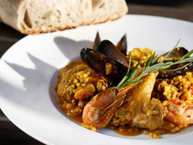 spansk mat paella recept