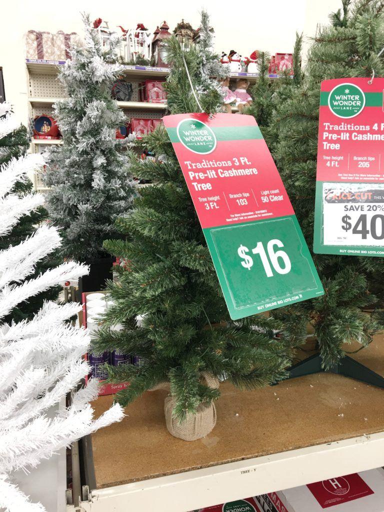 Christmas Decor with Big Lots Minimalist christmas