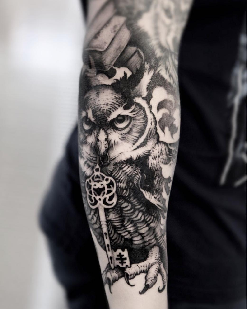 Owl Tattoos   Owl tattoo design, Tattoos, Sleeve tattoos