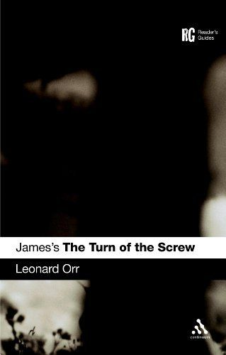 813.9 JAM/ORR James's The Turn of the Screw (Readers Guide) by Leonard Orr. *Literary and historical context * Language style & form * Critical reception * Adaptations (film/tv) * Further reading