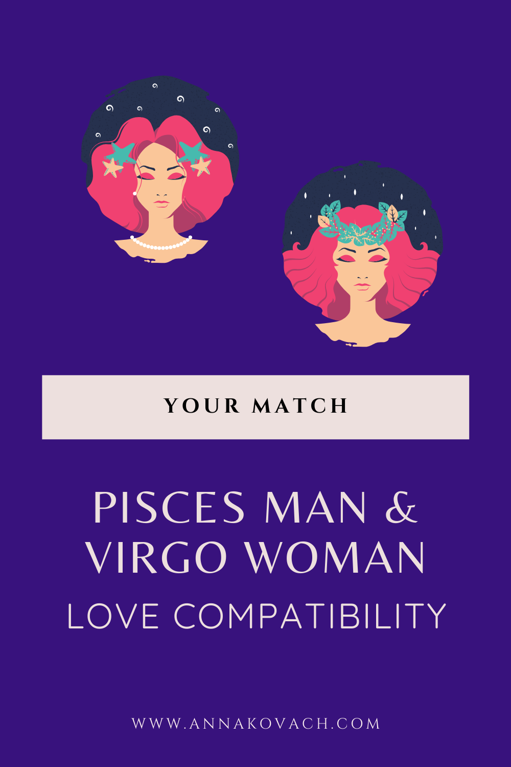 Pisces Man and Virgo Woman Love Compatibility | Pisces man