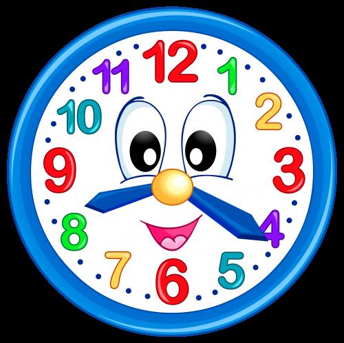 Výsledek obrázku pro school clock clipart