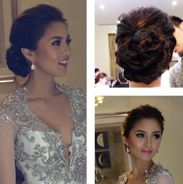 Kim Chiu Hair Trends Debut Hairstyles Hair Styles