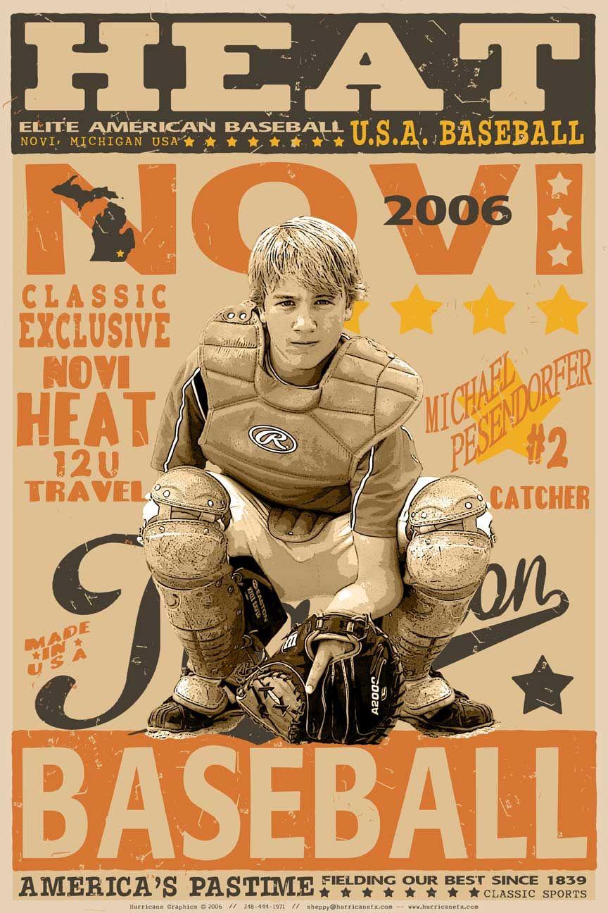 Baseball vintage base ball baseball poster design