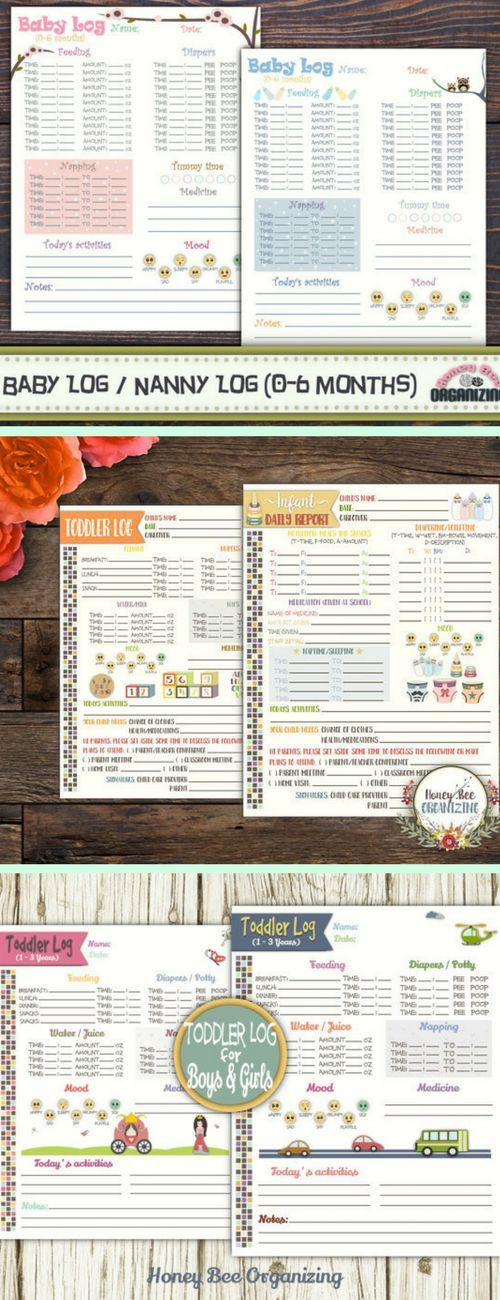 Check Out These Cute Baby And Toddler Printables Baby Log